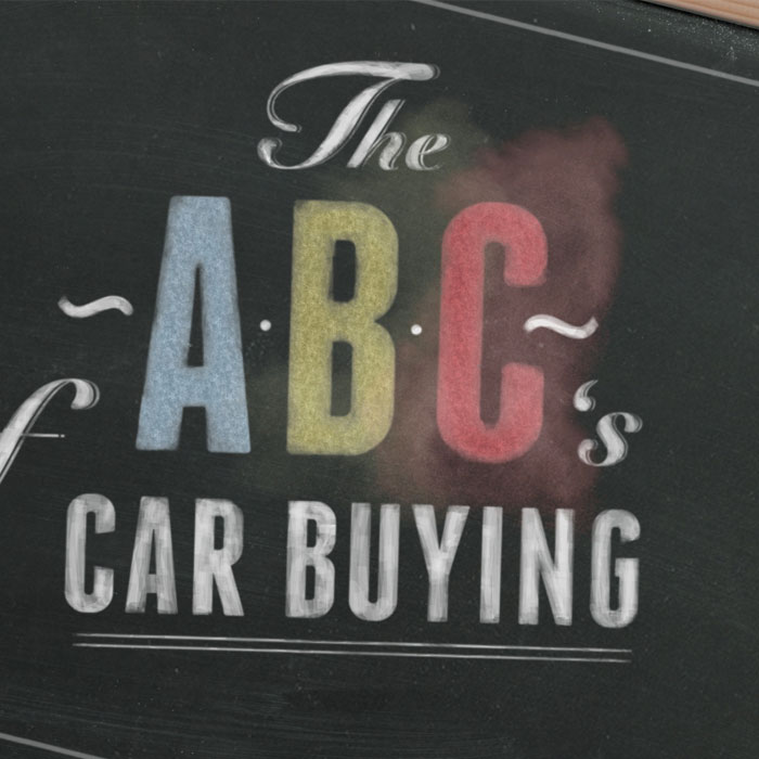 Chevy ABC's of Car Buying